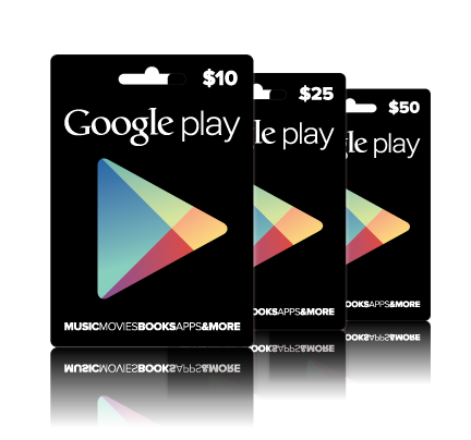 Google Play Gift Card 面額 US$10